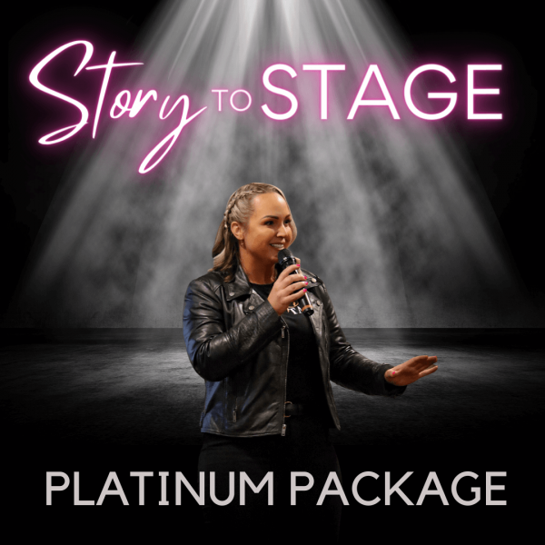 Platinum Package story to stage